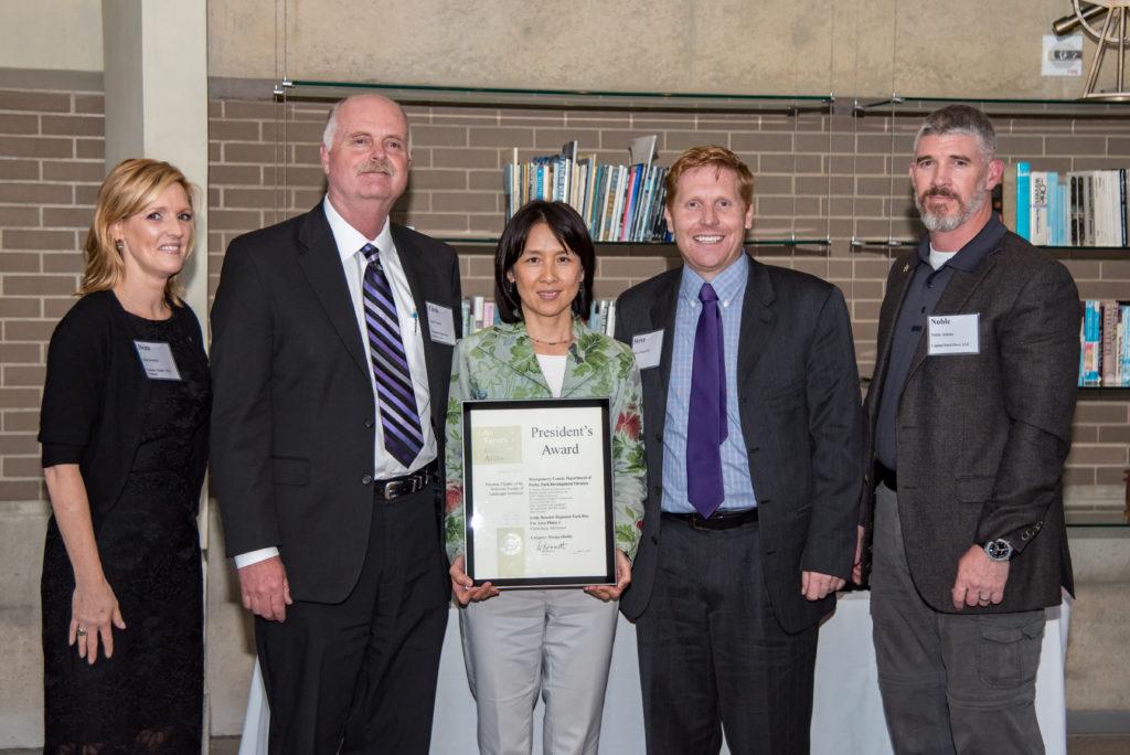 Pres award photo